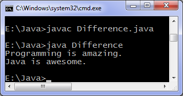 how to call non static methods in java
